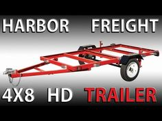 This is my new HARBOR FREIGHT heavy duty FOLDING trailer rated for In this video i open the box go through the contents and first impressions, a. Trailer Kits, Kayak Trailer, Trailer Build, Tent Camping Checklist, Tent Camping Beds, Camping Hacks, Harbor Freight Folding Trailer, Harbor Freight Tools, Folding Utility Trailer
