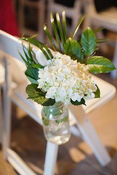 White Wedding Aisle Decor Ideas