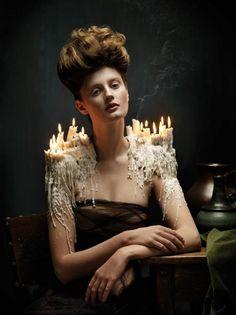 Door barok geïnspireerde foto's van Helen Sobiralski