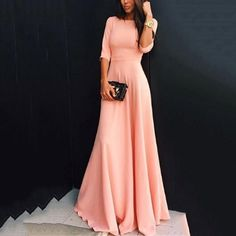 formal dresses with sleeves 15 best outfits - Page 2 of 13 - cute dresses outfits Evening Dresses For Weddings, Modest Wedding Dresses, Elegant Dresses, Pretty Dresses, Beautiful Dresses, Bridesmaid Dresses, Formal Dresses, Maxi Dresses, Bridesmaid Ideas