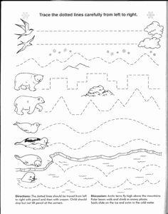 Preschool Workbooks, Free Preschool, Preschool Printables, Preschool Activities, Line Tracing Worksheets, Worksheets For Kids, Letter Worksheets, Writing Worksheets, Kindergarten Learning
