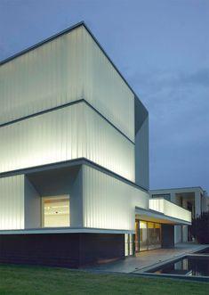 Domus Technica training center in Brescello, Italy by Iotti + Pavarani Architetti.