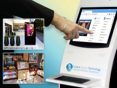 #Kiosk Applications: 1) Wireless Internet 2) Cafe Exhibitor Locator Stations 3) Event Registration Systems.
