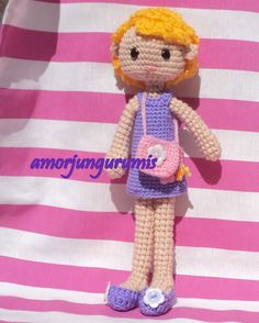 Crotchet Animals, Sewing Projects, Projects To Try, Learn To Crochet, Amigurumi Doll, Crochet Dolls, Fun Stuff, Bears, Knitting Patterns