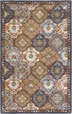 Surya Caesar CAE1032 Blue Rug. 20% Off on Surya Rugs! Area rug, carpet, design, style, home decor, interior design, pattern, trend, statement, summer, cozy, sale, discount, free shipping.