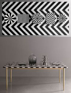 Herringbone Table by Bethan Gray.