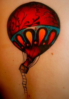 someone pinned this as just a tattoo...its more than that. It's the Circa Survive cover art for their album On Letting Go. One of my favorite albums of all time.