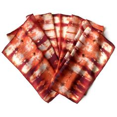 Outrageous Orange Hand Dyed Silk Scarf by SilkMari on Etsy, $39.00