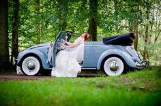 Vintage Volkswagen Wedding Hire Car Company-Calico Moon - Ooh! Mrs James