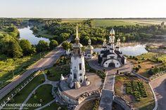 Church of St. Eugene in Buky village, Kyiv region, Ukraine