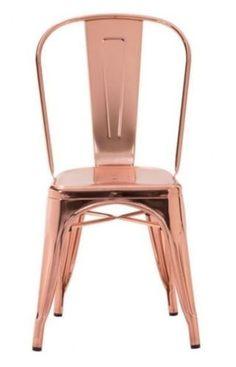 Elio Dining Chair Rose Gold
