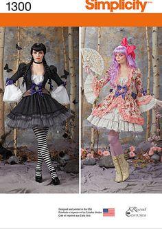 plus size dress patterns costumes