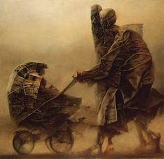 Fred Ledruide16:18  -  Público  Artwork by Zdzislaw Beksinski