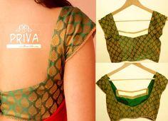 banaras brocade blouse
