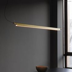 Compendium LED Linear Suspension by Luceplan Linear Pendant Lighting, Multi Light Pendant, Linear Chandelier, Led Pendant Lights, Lighting Concepts, Lighting Design, Interior Lighting, Modern Lighting, Ceiling Lighting