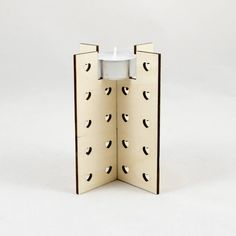 Lots of Hearts Birch Wooden Tealight Holder Laser Cut Tea Candle Holders, Wooden Candle Holders, Tea Candles, Tea Light Holder, Lazer Cut, Handmade Candles, Laser Cutting, Birch, Etsy Store
