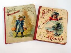 2 x 1900s Children's Books Beautiful by KentonCollectibles on Etsy