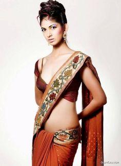 I love this sari