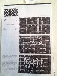 Net Making, Knot Braid, Filets, Point Lace, Lace Embroidery, Darning, Needle Lace, Tenerife, Lace Patterns