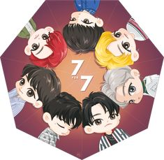 7 for 7 7.7 Mark Jackson, Jackson Wang, Got7 Jackson, Youngjae, Yugyeom, Got7 Fanart, Kpop Fanart, Got 7 Logo, Jaebum