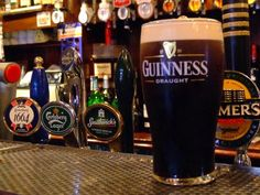 Irish bier!  And it is healthy for you....129 calories only!!  I think I will have one...maybe 2!