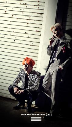 GD&TOP ZUTTER G-Dragon  BIGBANG MADE SERIES 'E'