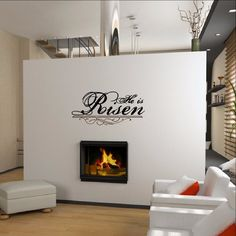 He Is Risen Christian Vinyl Wall Decal Style B 22291 Christian Wall Decals, He Is Risen, Vinyl Wall Decals, Home Decor Items, Wood Signs, Pillow Covers, Cricut, Pillows, Color