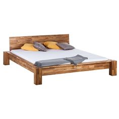 #Bett ab 399,99 € ♥ Hier kaufen: http://www.stylefru.it/s431578 #holz