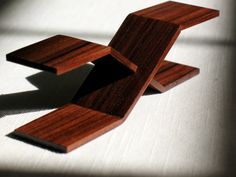 Modern Bowtie Platform Coffee Table by minibydesign on Etsy, $45.00
