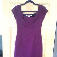 Diane Von Furstenberg Purple Dress