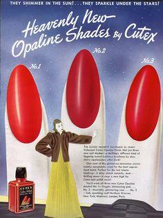 Cutex 1940 Nail Polish