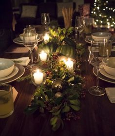 Intimate Dinner Party.