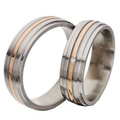 Items similar to Titanium Wedding Band, Polished Rose Gold Titanium Wedding Ring, Rose Gold Plated Titanium Band on Etsy Titanium Wedding Rings, Titanium Rings, Diamond Bands, Rose Gold Plates, Wedding Bands, Rings For Men, White Gold, Pure Products, Engagement Rings