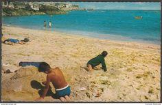 Porthminster Beach, St Ives, Cornwall, c.1960s - Constance Postcard
