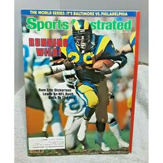 Eric Dickerson, Olympic Swimming, Nfl Football Players, Faye Dunaway, Teen Dating, Sports Illustrated, October, Label, Magazine