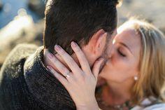 Romantic Lakeside Engagement Photos | Allie Lindsey Photography | Reverie Gallery Wedding Blog