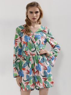 befbc1889b0a7 Buy Printed Wrap Playsuit For Women - Women s Multi Playsuits Online in  India