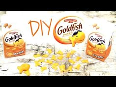 DIY American Girl Doll Goldfish - YouTube