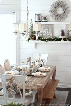 Woodsy Winter Wonderland - Christmas Decor 2012
