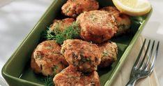 Κροκέτες μπακαλιάρου Cod Fish Cakes, Fish Plate, Good Food, Yummy Food, Food Categories, Group Meals, Greek Recipes, Fish And Seafood, No Cook Meals