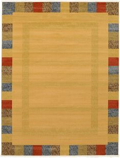 Beige Kashkuli Gabbeh Area Rug Nylon $400 and 9 by 12.  Only problem is I am afraid of synthetic.