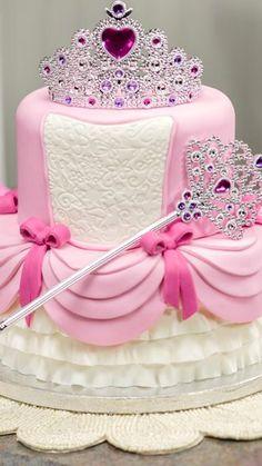 Princess Cake ~ How-To Make a Two-Tier Princess Cake
