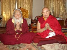 With Tenga Rinpoche