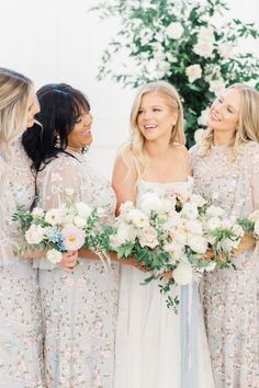 """From the editorial, """"Effortlessly Romantic Pastel Wedding Inspiration"""". """"The vision for this styled shoot was elegant, romantic, and high-end. Inspiration was drawn from @providencevineyard's timeless airy barn, as well as the open vineyard just outside its doors."""" 