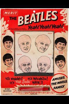 beatles merit | Merit's Beatle magnetic hair - put hair back on their head using a ...