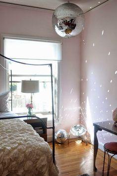 Globo De Espelhos Apartment Makeover Ideas Disco Ball Retro Home