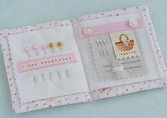 pink dogwoodneedlebook - Pretty by Hand -
