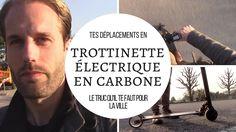 Une trottinette électrique en carbone pour ses déplacements en ville - J'ai testé pendant une année