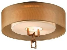 Link Semi-Flush Ceiling Lamp - Flush-mount Ceiling Lighting - Lightopia