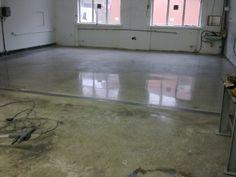 polírozott ipari padló